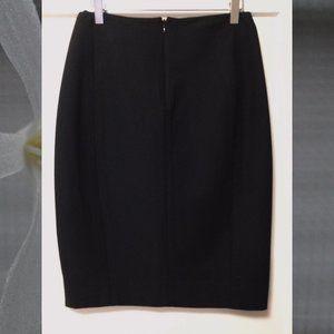 Donna Karan collection black stretch  skirt size 4